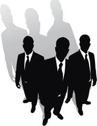 Resultado de imagen de Imágenes y dibujos de hombres de negro 3